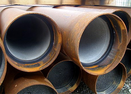 Tube acier CIMENT NU